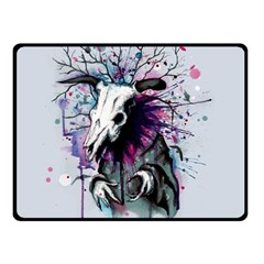 From Nature We Must Stray Double Sided Fleece Blanket (Small)