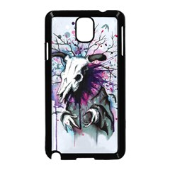From Nature We Must Stray Samsung Galaxy Note 3 Neo Hardshell Case (Black)