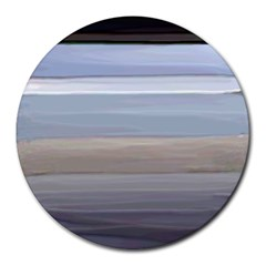 Pompey Beach Round Mousepads