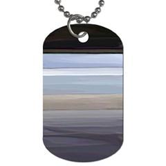Pompey Beach Dog Tag (One Side)