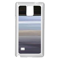 Pompey Beach Samsung Galaxy Note 4 Case (White)
