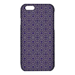 Stylized Floral Check iPhone 6/6S TPU Case