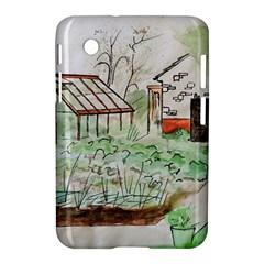Watercolour Garden Samsung Galaxy Tab 2 (7 ) P3100 Hardshell Case