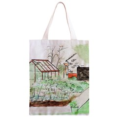 Watercolour Garden Classic Light Tote Bag