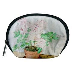 Watercolour Azalea Accessory Pouches (Medium)
