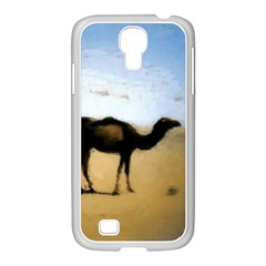 Moroccan Camels Painting Samsung GALAXY S4 I9500/ I9505 Case (White)