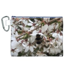 Busy Bee Canvas Cosmetic Bag (XL)