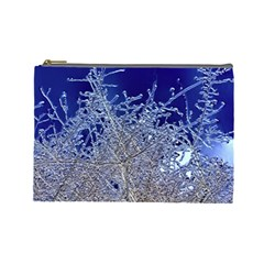 Crystalline Branches Cosmetic Bag (large)
