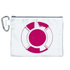 Pompey Lifesaver Canvas Cosmetic Bag (XL)