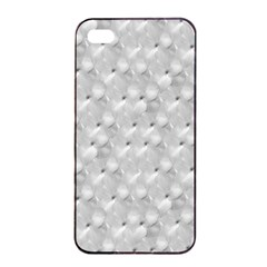 Ditsy Flowers Collage Apple iPhone 4/4s Seamless Case (Black)
