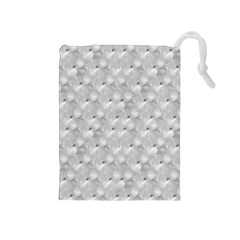 Ditsy Flowers Collage Drawstring Pouches (Medium)