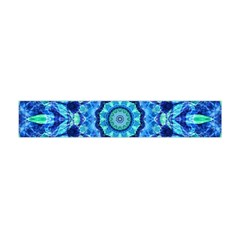 Blue Sea Jewel Mandala Flano Scarf (mini)