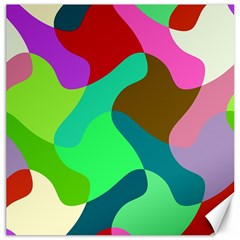 Retro shapes                                   Canvas 16  x 16
