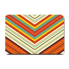 Bent stripes                                    Small Doormat