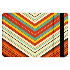 Bent stripes                                    			Apple iPad Air Flip Case