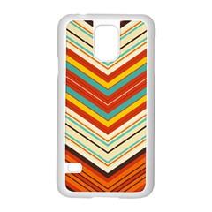 Bent stripes                                    Samsung Galaxy S5 Case (White)
