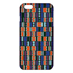 4 colors shapes                                    			iPhone 6 Plus/6S Plus TPU Case