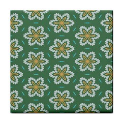 Yellow flowers pattern                                    Face Towel