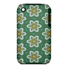 Yellow Flowers Pattern                                    apple Iphone 3g/3gs Hardshell Case (pc+silicone)