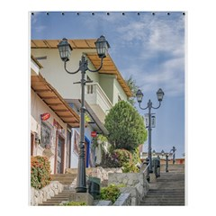 Cerro Santa Ana Guayaquil Ecuador Shower Curtain 60  x 72  (Medium)