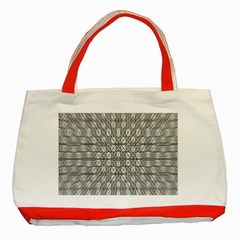 Look Inside Classic Tote Bag (red)