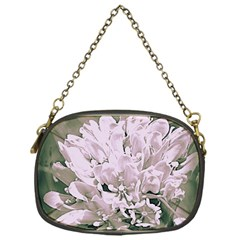 White Flower Chain Purses (One Side)