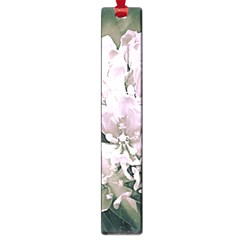 White Flower Large Book Marks