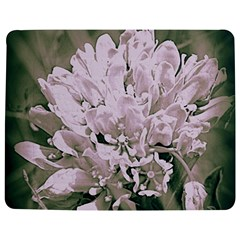 White Flower Jigsaw Puzzle Photo Stand (rectangular)