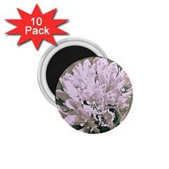White Flower 1 75  Magnets (10 Pack)