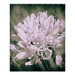 White Flower Shower Curtain 60  x 72  (Medium)