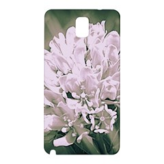 White Flower Samsung Galaxy Note 3 N9005 Hardshell Back Case