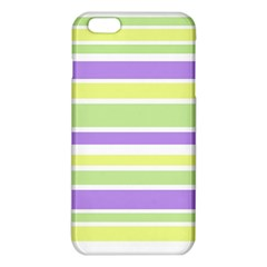 Yellow Purple Green Stripes Iphone 6 Plus/6s Plus Tpu Case