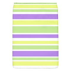 Yellow Purple Green Stripes Flap Covers (S)