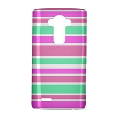 Pink Green Stripes LG G4 Hardshell Case