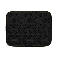 Black Perfect Stitch Netbook Case (small)