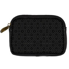 Black Perfect Stitch Digital Camera Cases