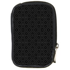Black Perfect Stitch Compact Camera Cases