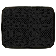 Black Perfect Stitch Netbook Case (xxl)