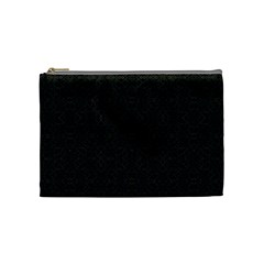 Black Perfect Stitch Cosmetic Bag (medium)