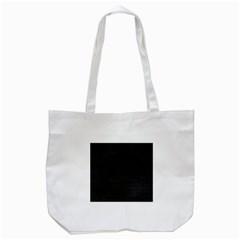 Black Perfect Stitch Tote Bag (White)