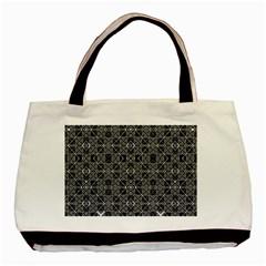 Number Art Basic Tote Bag