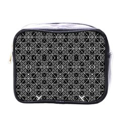 Number Art Mini Toiletries Bags
