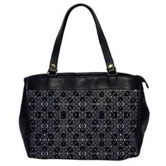 Number Art Office Handbags