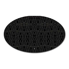 Perfect Cat Oval Magnet