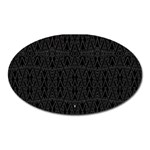 PERFECT CAT Oval Magnet Front