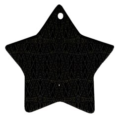 Perfect Cat Star Ornament (two Sides)