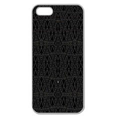 PERFECT CAT Apple Seamless iPhone 5 Case (Clear)