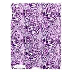 Purple Paisley Doodle Apple iPad 3/4 Hardshell Case