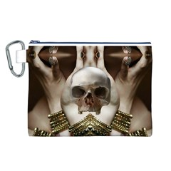 Skull Magic Canvas Cosmetic Bag (L)