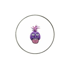Funny Fruit Face Head Character Hat Clip Ball Marker